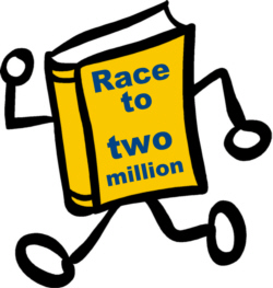 Race to TWO MILLION BOOKS